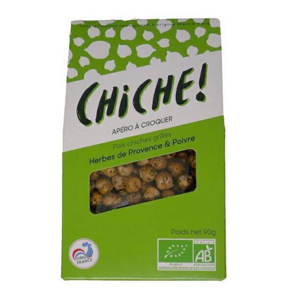 CHICHE - Croustiche pois chiches grillés Herbes de Provence et Poivre 90