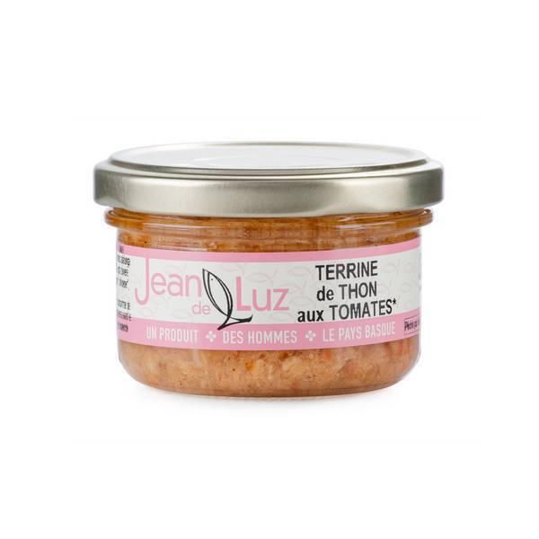 Conserverie Jean de Luz - Terrine de thon aux tomates 85g
