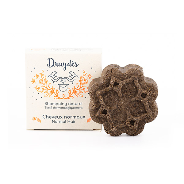 Druydes - Shampoing solide cheveux normaux 70g