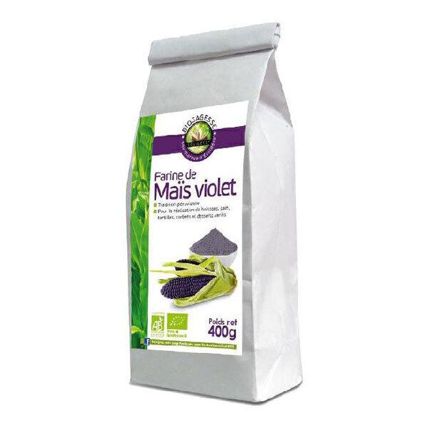 Ecoidées - Farine de maïs violet 400g