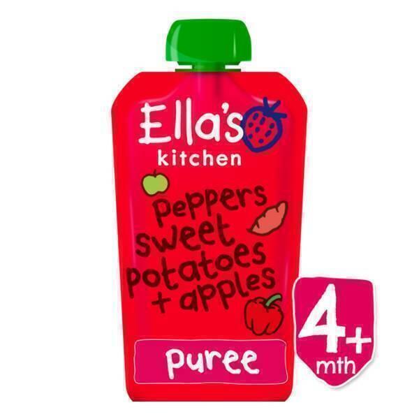 Ella's kitchen - Gourde poivrons patate douce pomme 120g