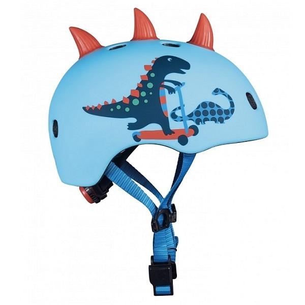Micro - Casque enfant velo et trottinette Dinosaure 3D M