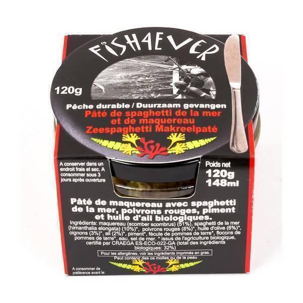 Fish4Ever - Paté de maquereau et spaghetti de la mer 120g