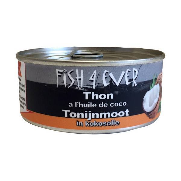 Fish4Ever - Thon à l'huile de coco 160g