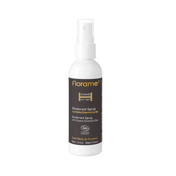 Florame - Déodorant spray pour homme aux huiles essentielles 100ml