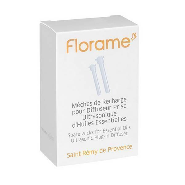 Florame - Mèches de recharge pour diffuseur prise d'huiles essentielles