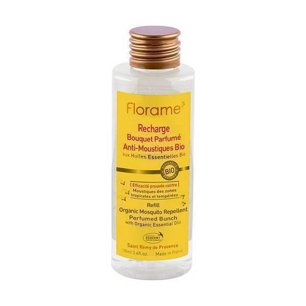 Florame - Recharge bouquet parfumé anti moustique 100ml