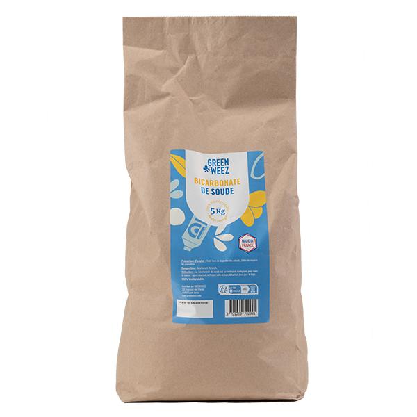 Greenweez - Bicarbonate de soude alimentaire 5kg