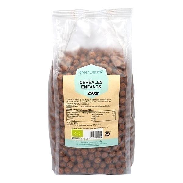 Greenweez - Céréales boules chocolat Bio 250g