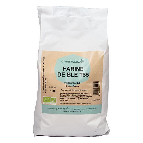 Greenweez - Farine de blé T55 Bio France 1kg