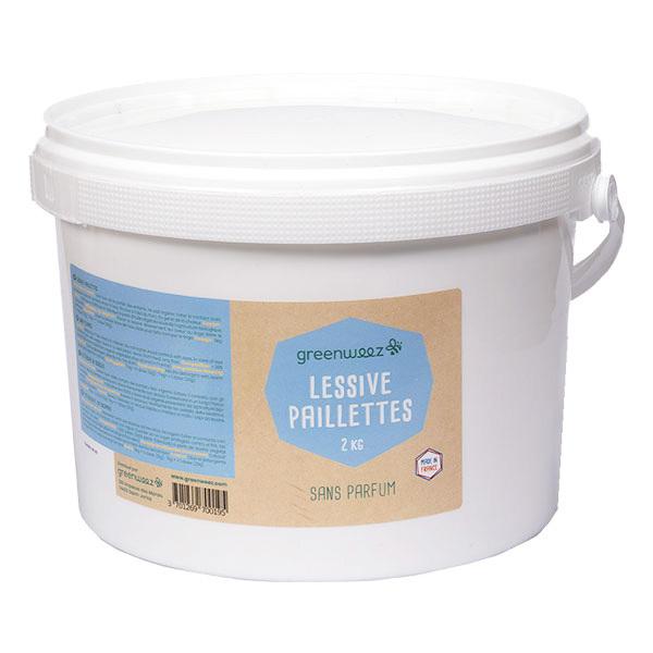 Greenweez - Lessive paillettes sans parfum 2kg