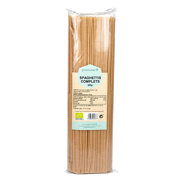 Greenweez - Spaghettis complets Bio Italie 500g