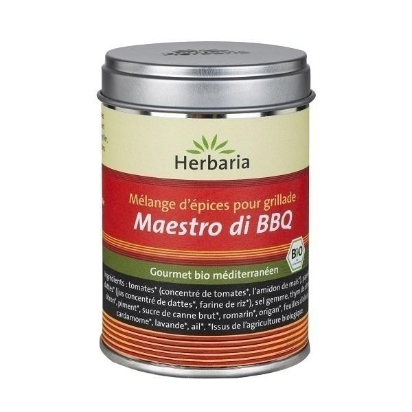 Herbaria - Maestro di BBQ - Mélange d'épices pour grill ou plancha -70g
