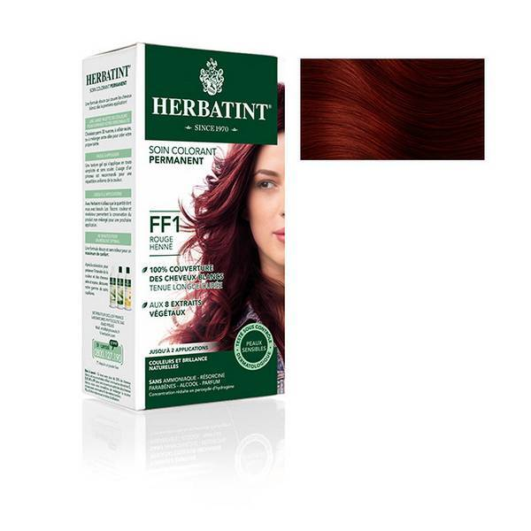 Herbatint - Soin colorant FF1 Rouge Henne 150ml
