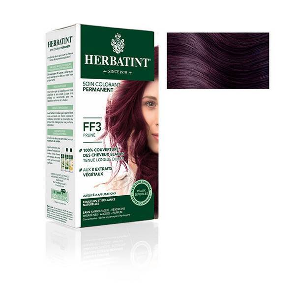 Herbatint - Soin colorant FF3 Prune 150ml