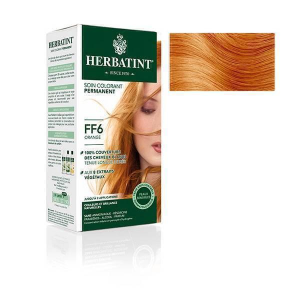 Herbatint - Soin colorant FF6 Orange 150ml
