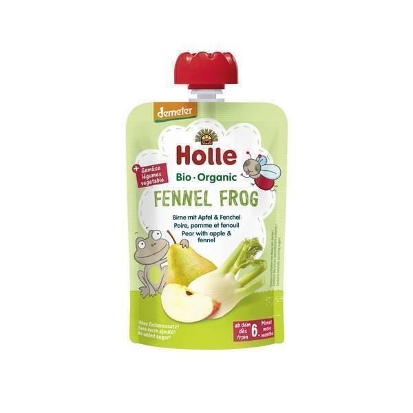 Holle - Gourde Fennel Frog poire pomme fenouil 100g
