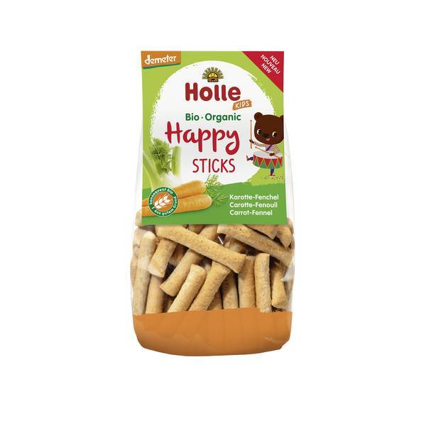 Holle - Happy sticks carotte fenouil 100g