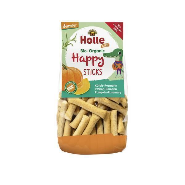Holle - Happy sticks potiron romarin 100g