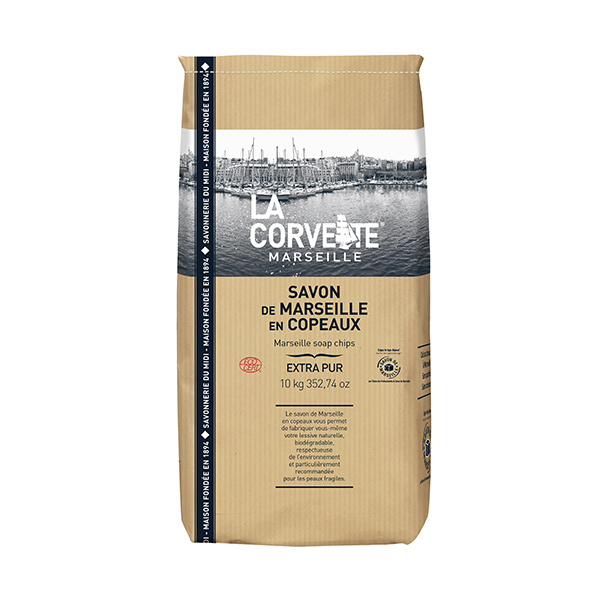 La Corvette - Copeaux de savon de Marseille Extra Pur 10kg