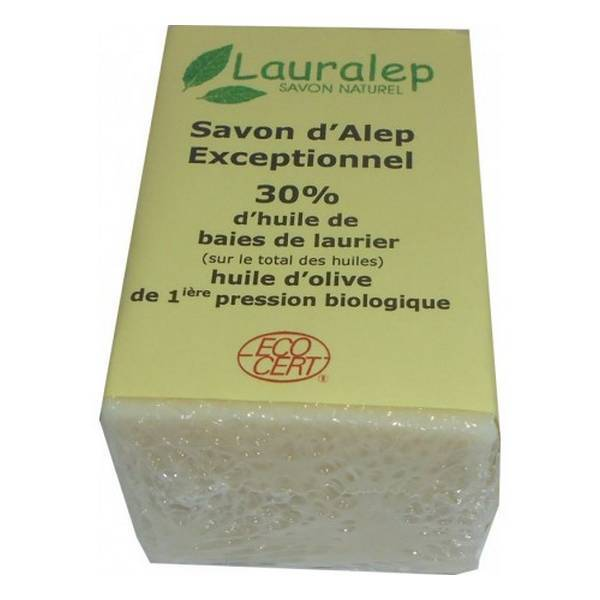 Lauralep - Savon d'Alep exceptionnel 30% 150g