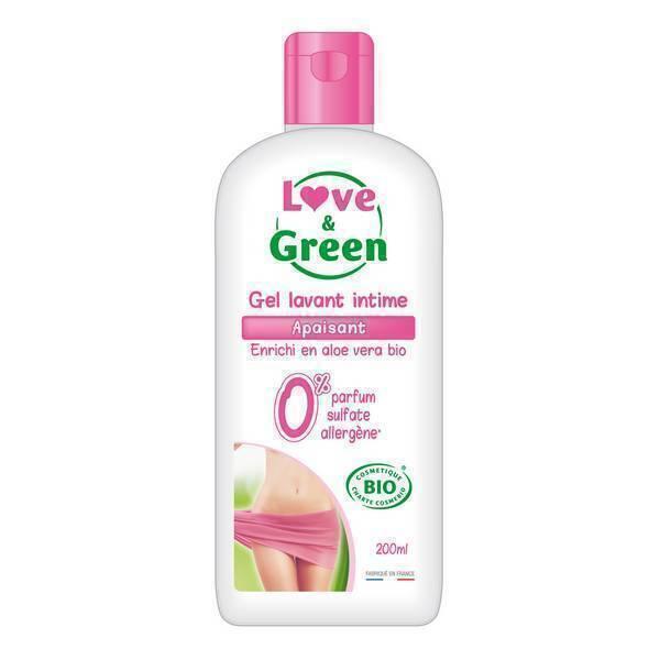 Love & Green - Gel intime apaisant bio 200 ml