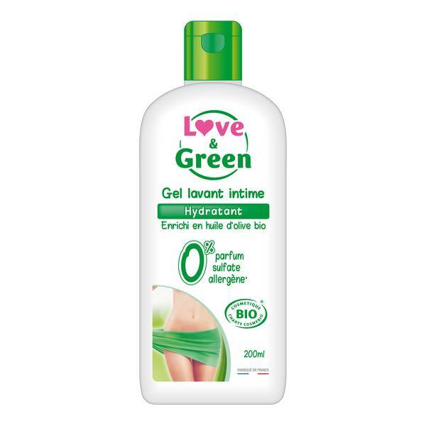 Love & Green - Gel intime hydratant bio 200 ml