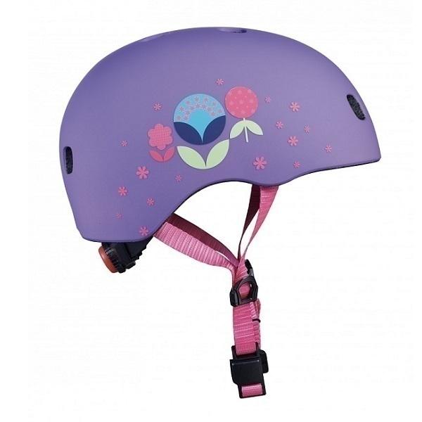Micro - Casque enfant vélo et trottinette Fleurs S