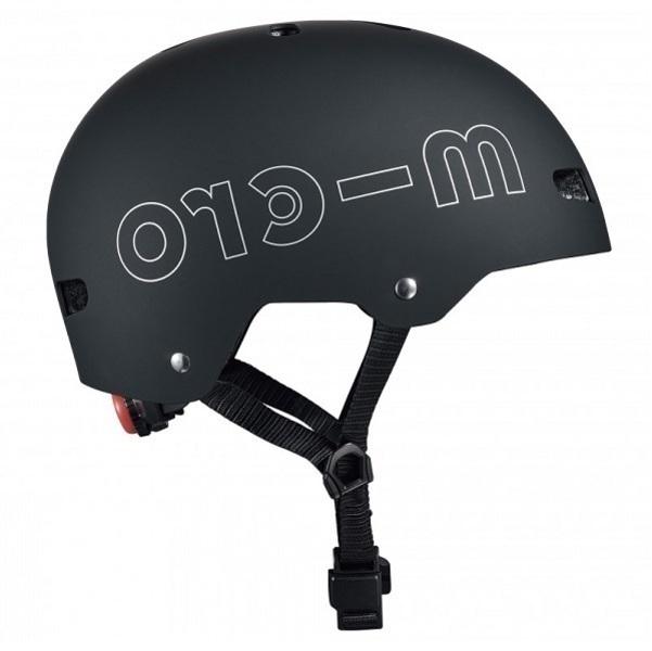 Micro - Casque vélo et trottinette Noir mat M