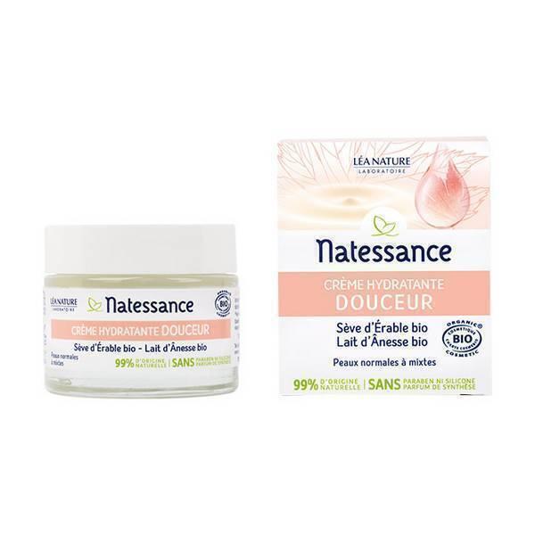 Natessance - Crème hydratante douceur 50ml