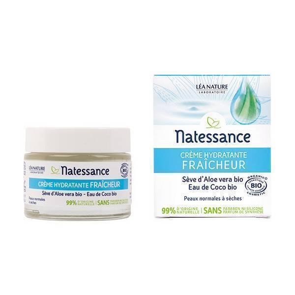 Natessance - Crème hydratante fraîcheur 50ml