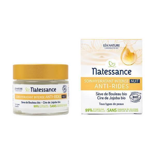 Natessance - Soin hydratant intense anti-rides nuit 50ml
