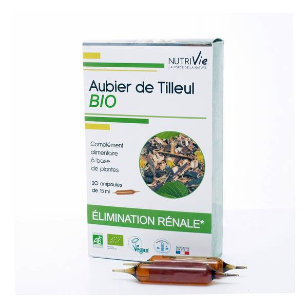 NutriVie - Cure aubier de tilleul 20 ampoules