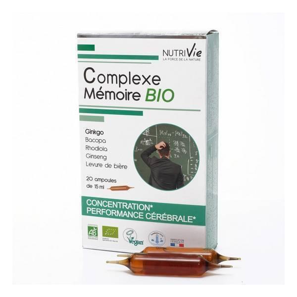 NutriVie - Cure complexe mémoire 20 ampoules