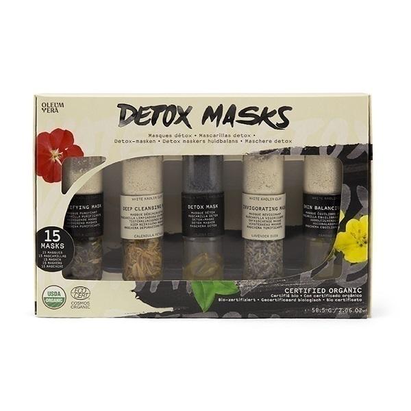 Oleum Vera - Coffret 5 soins detox - Masques détoxifiants