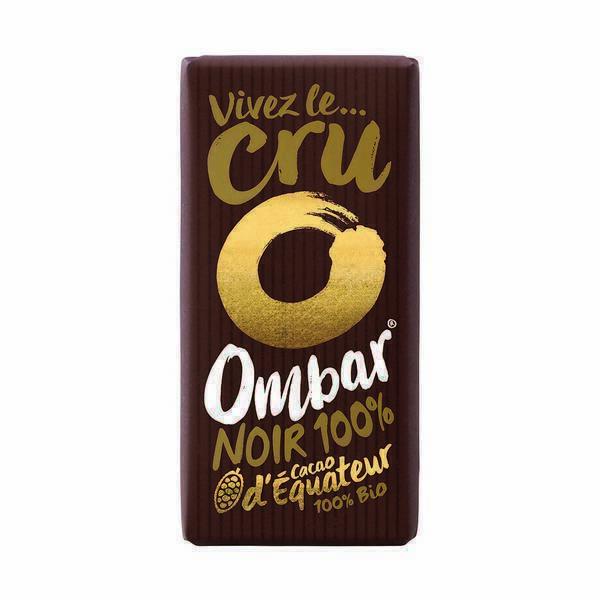 Ombar - Chocolat Cru Bio Noir 100% 35g