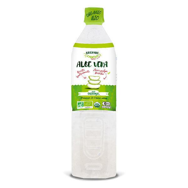 Organic Crunch - Boisson à l'aloe vera nature Original 1,2L