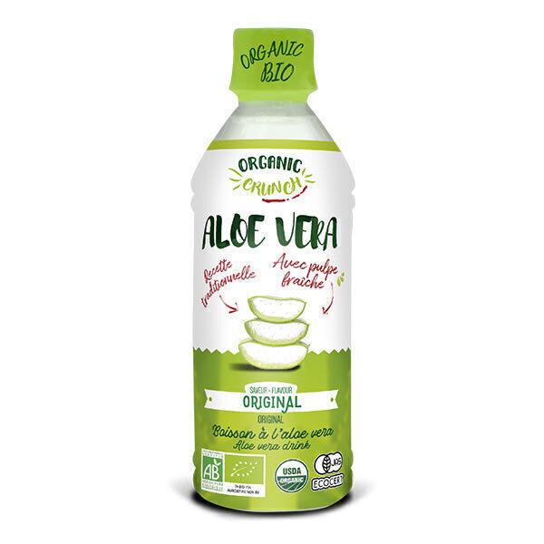 Organic Crunch - Boisson à l'aloe vera nature Original 350ml
