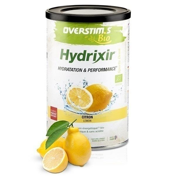 Overstims - Boisson énergétique Hydrixir Bio au citron 500g