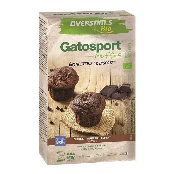 Overstims - Préparation Gatosport Bio pour muffins chocolat 400g