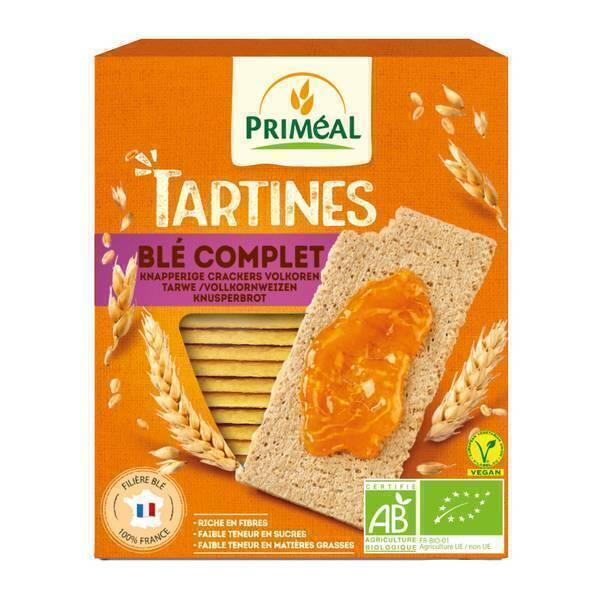 Priméal - Tartines craquantes blé complet 150g