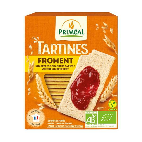 Priméal - Tartines craquantes froment 150g