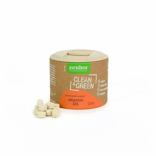 Purasana - Vitamines D3 90 comprimés