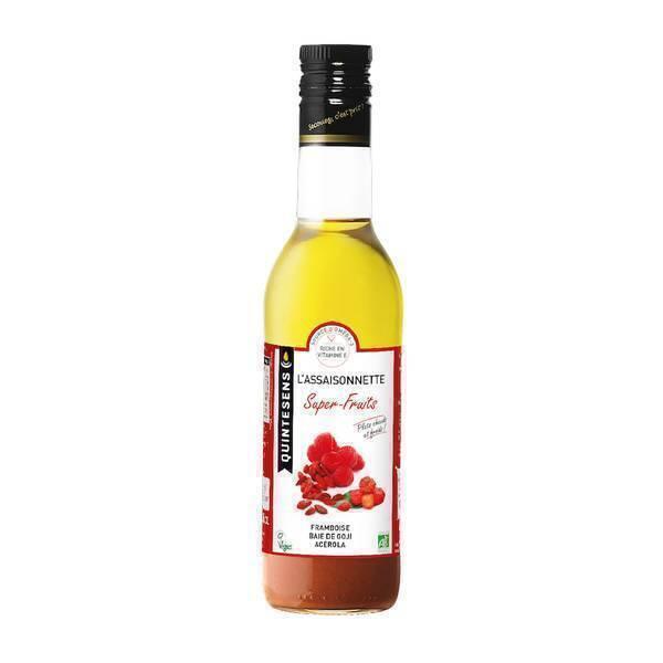 Quintesens - Vinaigrette Assaisonnette Super-Fruits 36cl