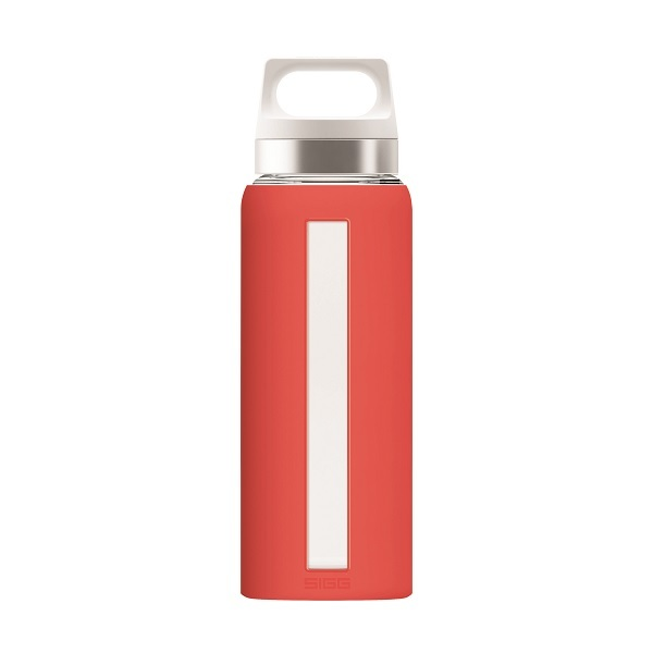 Sigg - Gourde Dream en verre simple paroi Scarlet 65cl