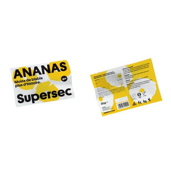 Supersec - Ananas snack 22g