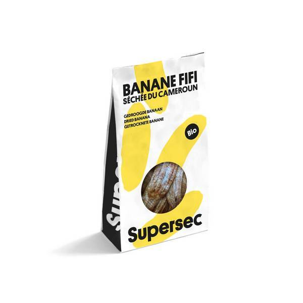 Supersec - Banane séchée 110g