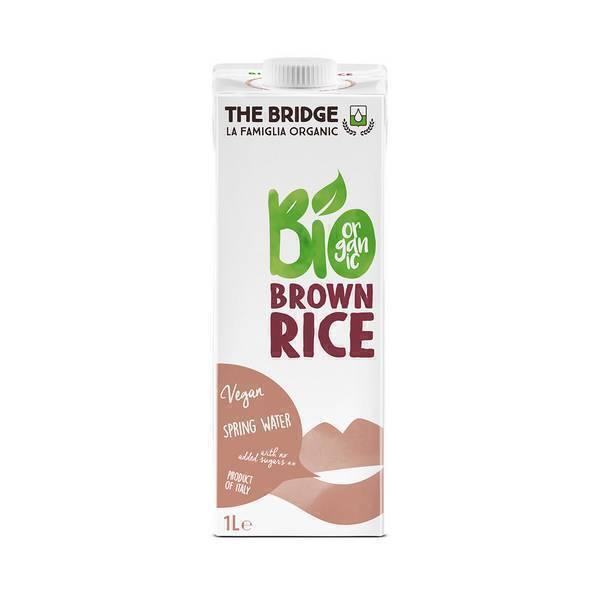 The Bridge - Boisson végétale riz complet 1L