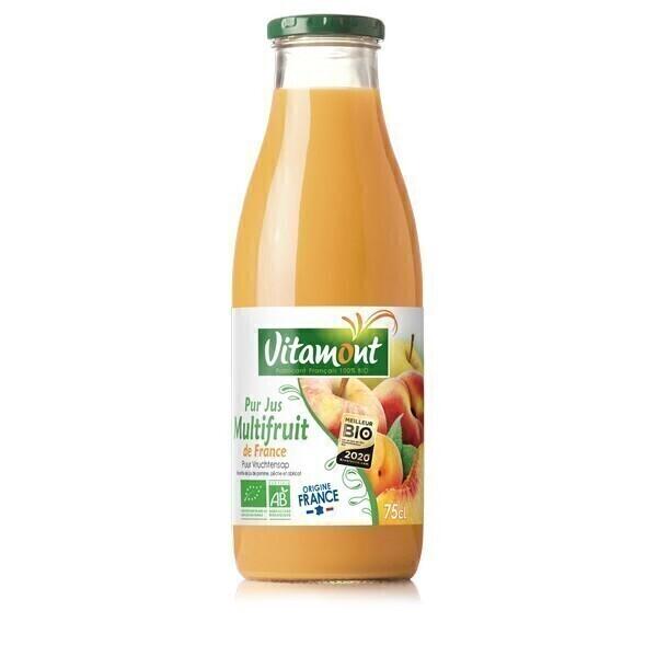 Vitamont - Pur jus 3 fruits verger de France 75cl