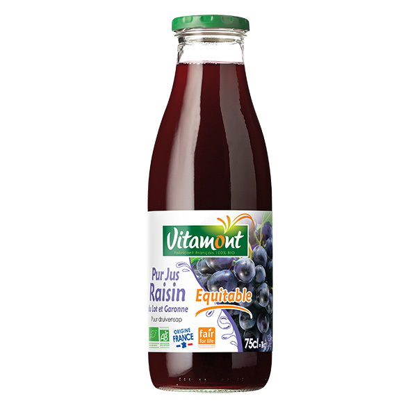 Vitamont - Pur jus de raisin Lot et Garonne 75cl